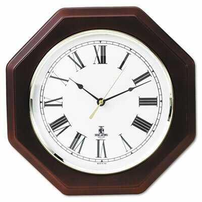 Chicago Lighthouse For The Blind Octagon Quartz Wall Clock