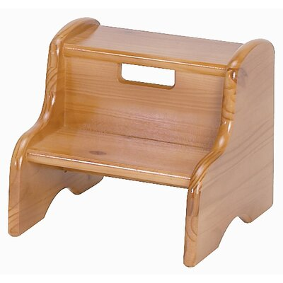 1-Step Plastic Children's Step Stool by Little Colorado