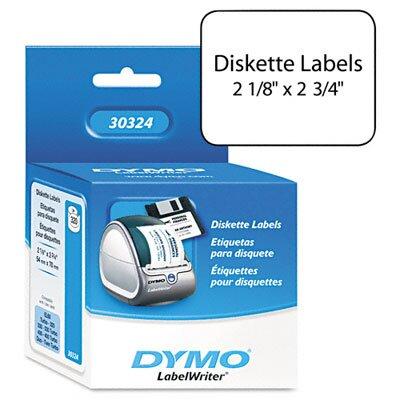 Dymo Corporation Diskette Labels, 320/Box