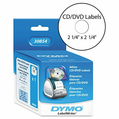 Dymo Corporation Cd/Dvd Labels, 160/Box