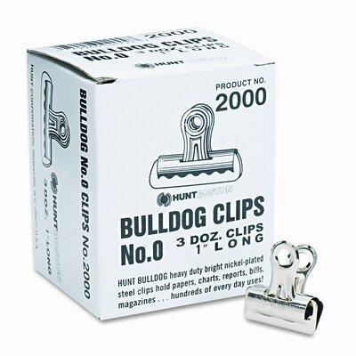 Elmer's Products Inc x-Acto Bulldog Clips, Steel, 36/Box