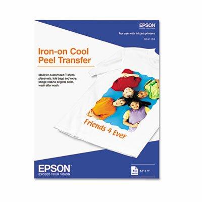 Epson America Inc. 041153 Iron-On Inkjet Transfer/Pack
