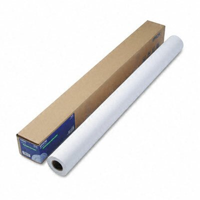 "Epson America Inc. S041387 Doubleweight Matte Paper, 44"" x 82'"