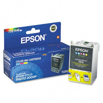Epson America Inc. T016201 Ink, 253 Page-Yield, 5/Pack