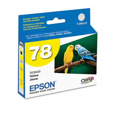 Epson America Inc. T078420 Claria Ink, 430 Page-Yield