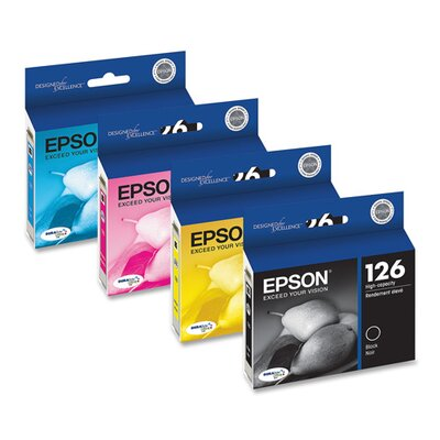 Epson America Inc. T126120 (126) High-Yield Ink