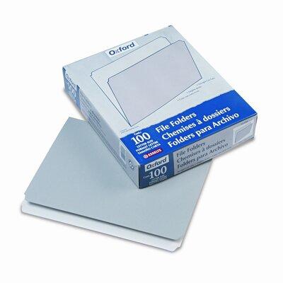 Esselte Pendaflex Corporation Two-Tone File Folders, Straight Cut, Top Tab, Letter, 100/Box
