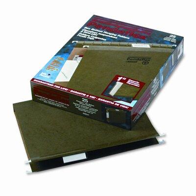 "Esselte Pendaflex Corporation Reinforced 1"" Extra Capacity Hanging Folders, Letter, 25/Box"