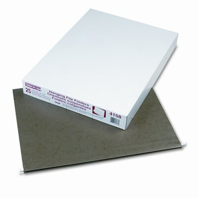 Esselte Pendaflex Corporation Reinforced Hanging File Folders, Kraft, X-Ray, 25/Box