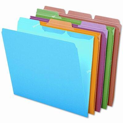 Esselte Pendaflex Corporation Ready-Tab Ready-Tab File Folders, 1/3 Cut Top Tab, Letter, 50/Box