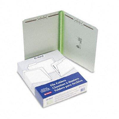 "Esselte Pendaflex Corporation Pressboard Folders with Two 2"" Capacity Fasteners, Letter, 25/Box"