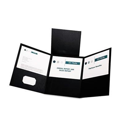 Esselte Pendaflex Corporation Oxford Tri-Fold Folder with 3 Pockets, Holds 150 Letter-Size Sheets