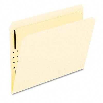 Esselte Pendaflex Corporation Manila One-Fastener Classification Folders with Straight Tabs, Letter, 50/Box