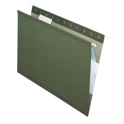 Esselte Pendaflex Corporation Reinforced Hanging File Folders, 1/5 Tab, Kraft, Legal, 25/Box