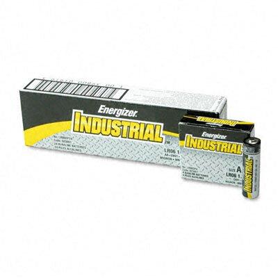 Energizer® Industrial Alkaline Batteries, Aa, 24 Batteries/Box