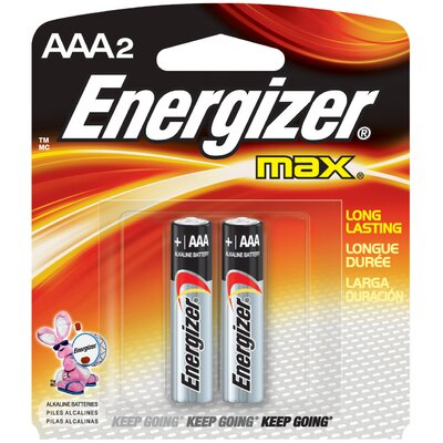 Energizer® AAA Advanced Formula Alkaline Battery (2 Pack)