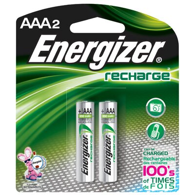 Energizer® AAA ACCU Rechargeable High Energy Battery (2 Pack)