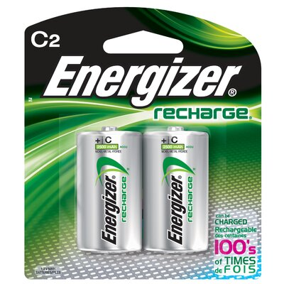 Energizer® C ACCU Rechargeable High Energy Battery (2 Pack)