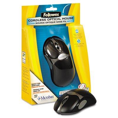 Fellowes Mfg. Co. 5 Button Microban Optical Mouse