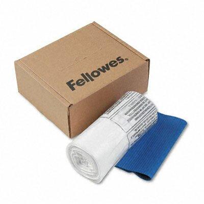Fellowes Mfg. Co. 6-7 Gallon Powershred Shredder Bag (100 Bags/Roll)