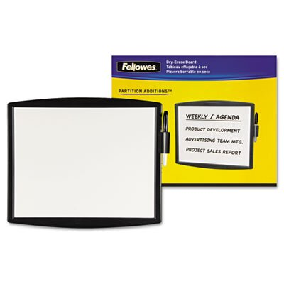 Fellowes Mfg. Co. Fellowes Partition Additions Dry Erase Wall Mounted Whiteboard, 1' x 1'