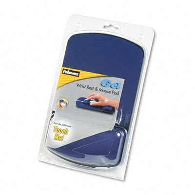 Fellowes Mfg. Co. Fellowes® Gel Wrist Rest with Mouse Pad