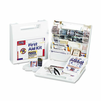First Aid Only™ First Aid Kit for 50 People, 195 Pieces, Osha/Ansi Compliant, Plastic Case