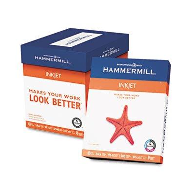 Hammermill Inkjet Paper, 96 Brightness, 24Lb, 500 Sheets/Ream