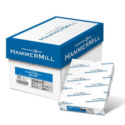 "Hammermill Colored Copy Paper, 8-1/2""x11"", 500/RM, Gray"