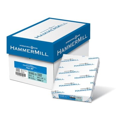 """Hammermill Colored Copy Paper, 5Lb, 8-1/2""""x11"""", 500/RM, Turquoise"""