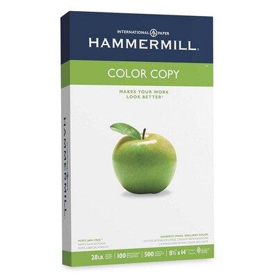 Hammermill Color Copy Paper, 100 Brightness, 28Lb, 8-1/2 X 14, 500/Ream