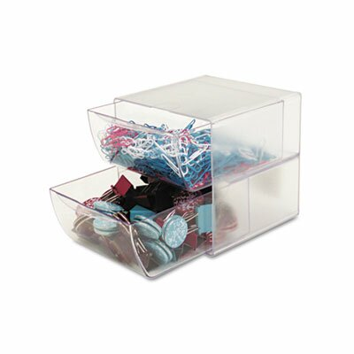 Deflect-O Corporation Two Drawer Cube Organizer