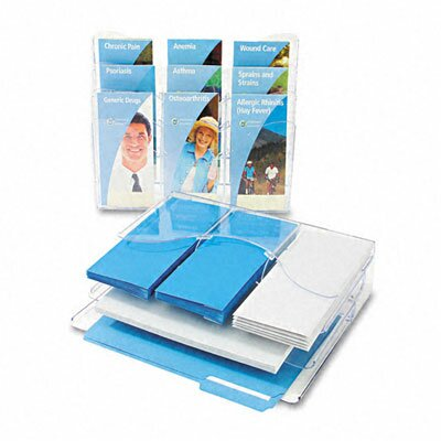Deflect-O Corporation 3-Tier Document Organizer with Dividers