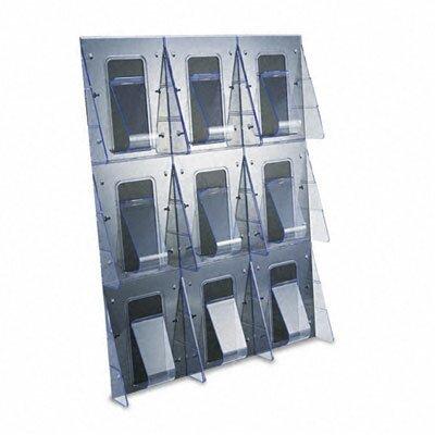 Deflect-O Corporation 9 Pocket Wall-Mount System