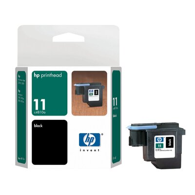 HEWLETT PACKARD SUPPLIES C4810A OEM Ink Cartridge, 16000 Page Yield, Black