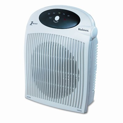 Holmes® Holmes® with ALCI 1,500 Watt Portable Electric Fan Compact Heater with Auto Shut-Off