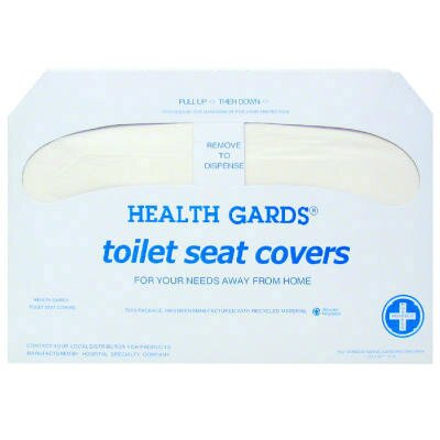 Hospital Specialty Health Gards Toilet Seat Covers - 250 Covers per Box