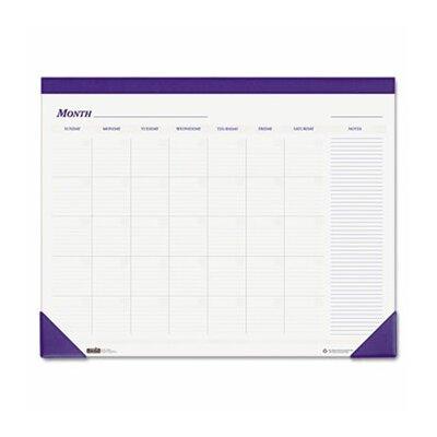 House of Doolittle Nondated Desk Pad Calendar