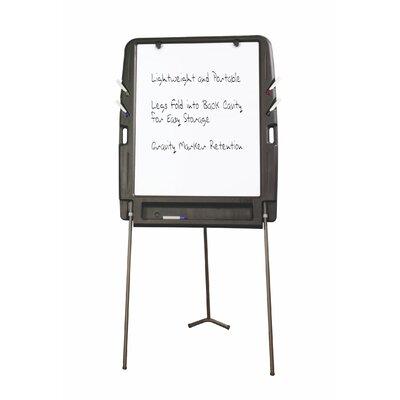 Iceberg Enterprises Portable Flipchart Easel Free-Standing Whiteboard, 6' x 3'