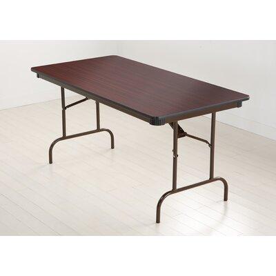 Iceberg Enterprises Wood Rectangular Folding Table