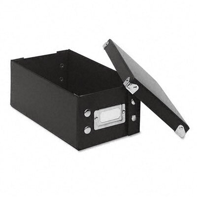 Ideastream Products Snap-N-Store Snap 'N Store Collapsible Index Card File Box Holds 1,100 3 X 5 Cards