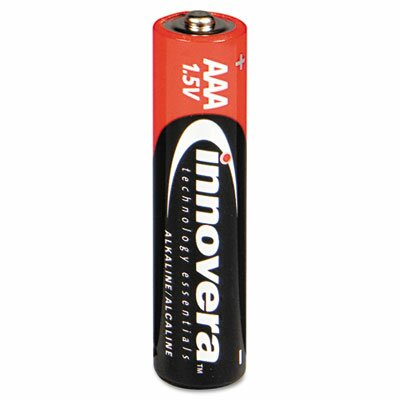 Innovera® Alkaline Battery, 8/Pack