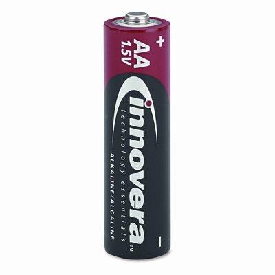 Innovera® Alkaline Batteries AA 1.5 Volt