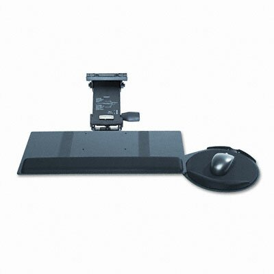 Kelly Computer Supply Leverless Keyboard Tray, Black