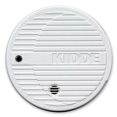 Kidde Fire Smoke Alarm, White Product Photo