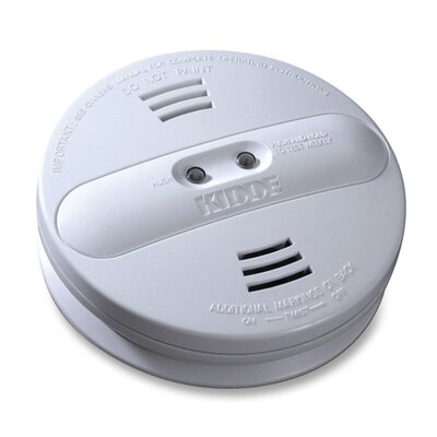 Smoke Alarm, Photo/Ion, Dual Sensor, Batt Opr, White Product Photo