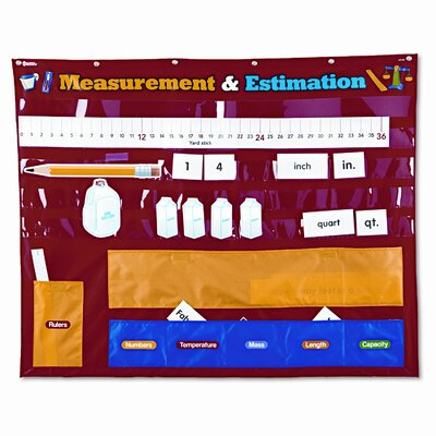 Learning Resources® Measurement and Estimation Pocket Chart