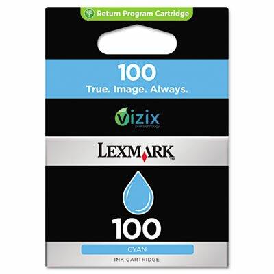 Lexmark International 14N0900 100 Ink Cartridge, 200 Page-Yield