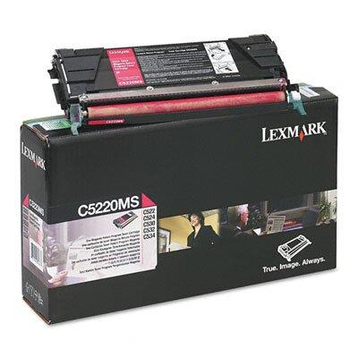 Lexmark International C5220MS Toner Cartridge, 3000 Page-Yield