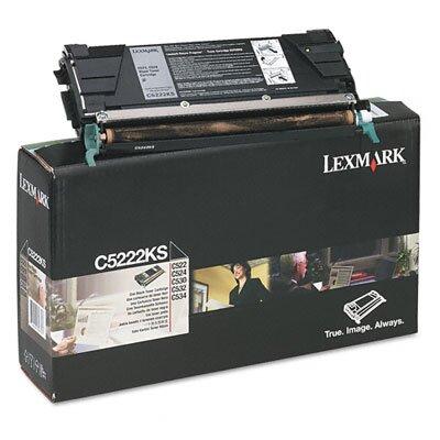 Lexmark International C5222KS Toner Cartridge, 4000 Page-Yield